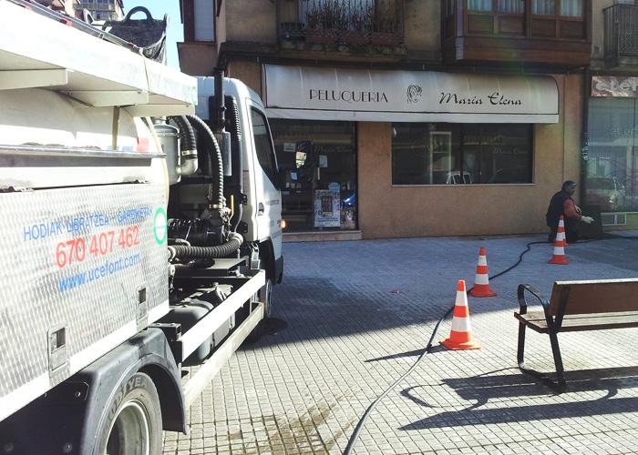 Desatascos en Donostia y Gipuzkoa